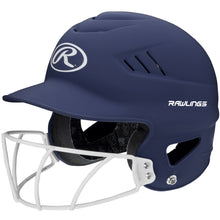 Load image into Gallery viewer, Rawlings Coolflo Highlighter Softball Helmet/Face