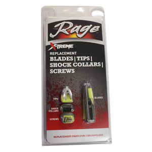 Rage Extreme Replacement Blades 2.3in. Cut 6pk 51005