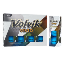 Load image into Gallery viewer, Volvik Vivid 3 Pc Golf Balls - Matte