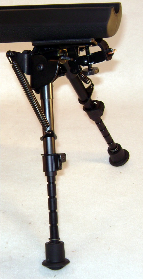 Harris BiPod Hinged Base 6-9 inches S-BRM