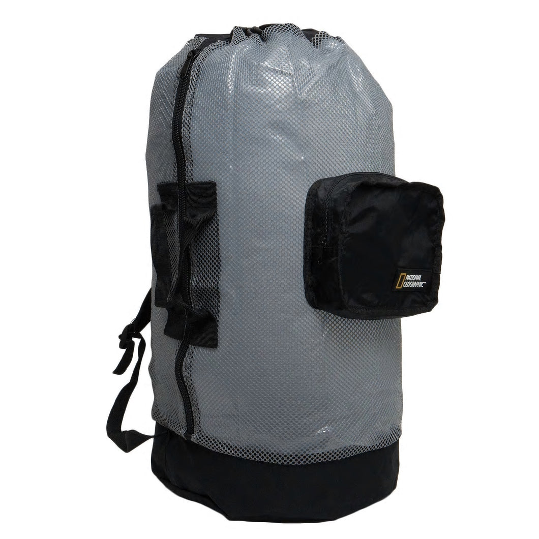 Nat Geo Clamshell Mesh Backpack Dlx 5 Pocket