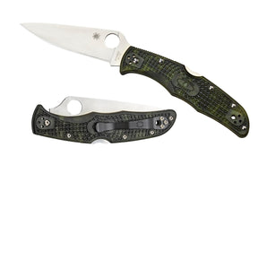 Spyderco Endura 4 Folder 3.75 in Plain FRN Handle