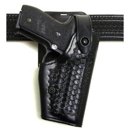 Safariland 6285 Holster Black RH SandW 5906TSW with 5M light