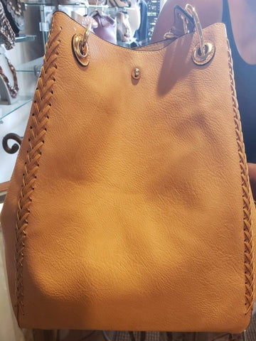 Brown 2 in one purse