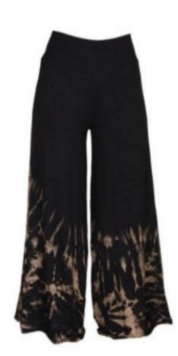 Black and White Palazzo Pant