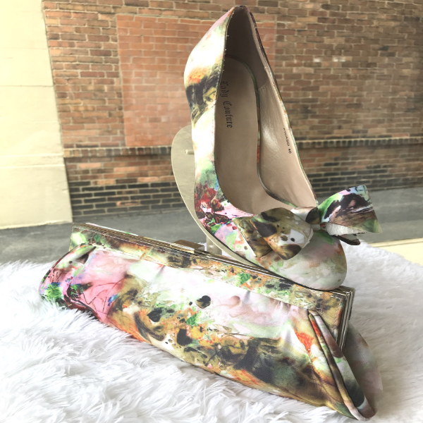 Beautiful Floral Shoe