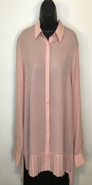 Blush Crepe Blouse