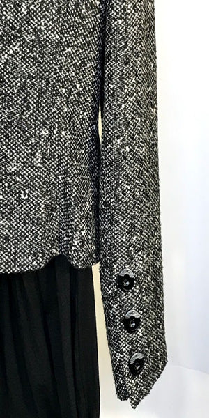 Black and White Couture Blazer