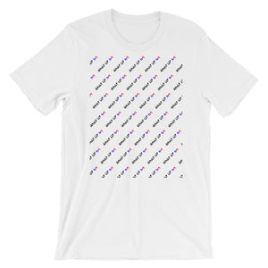 What Up HK Pattern T-Shirt