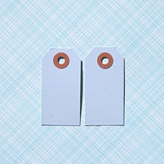 Light Blue Shipping Tags