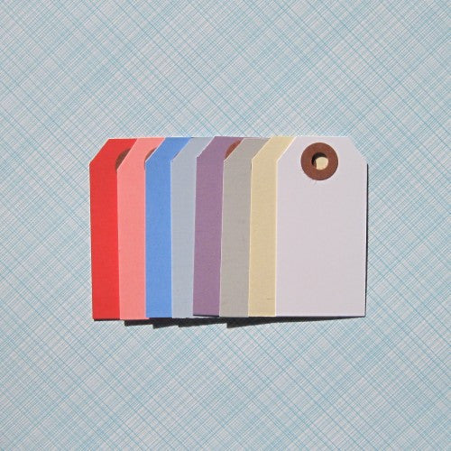 Shipping Gift Tags Various Colors