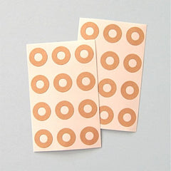 Kraft Tag Hole Reinforcement Stickers