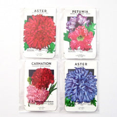 Vintage Flower Seed Envelopes