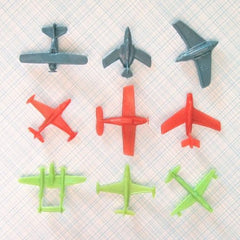 Vintage Plastic Toy Airplanes