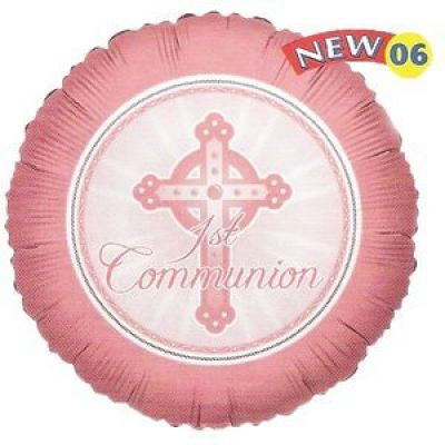 45cm Foil Balloon - COMMUNION GIRL