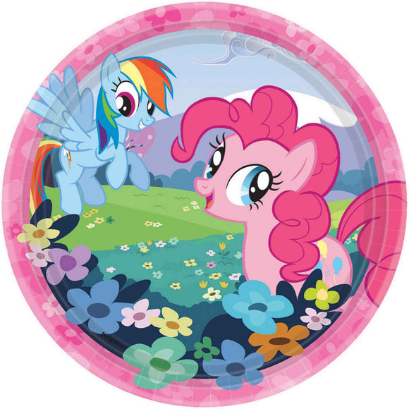 Party Paper Plates 17cm - MY LITTLE PONY