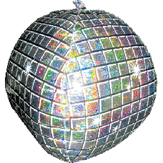 SuperShape Foil - DISCO BALL