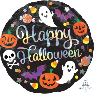 45cm Foil Balloon - HAPPY HALLOWEEN