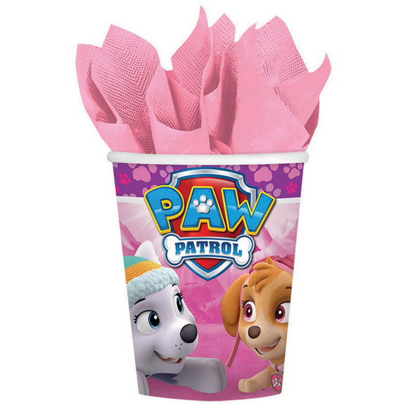 Party Paper Cups - PAW PATROL (GIRL)