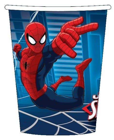Party Paper Cups - SPIDER MAN