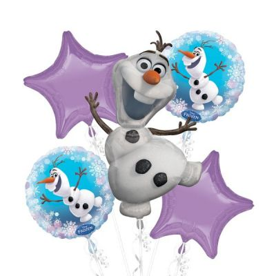 Balloon Bouquet - FROZEN (OLAF)