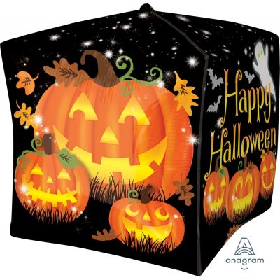 CUBEZ Balloon Bubbles - HAPPY HALLOWEEN - PUMPKIN