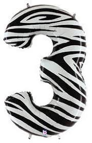 SuperShape Numbers ZEBRA #3 (DELETED LINE)