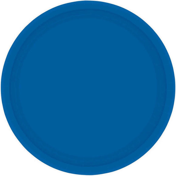 BLUE - Paper Plates 23cm ***CLEARENCE***