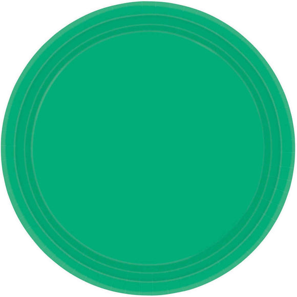 FESTIVE GREEN - Paper Plates 23cm ***CLEARENCE***