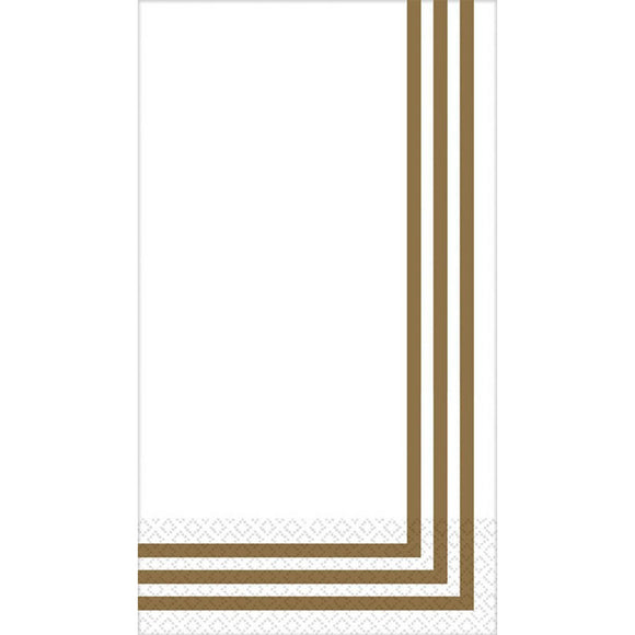 GOLD - Luxury Guest Towels (Napkins) ***CLEARENCE***