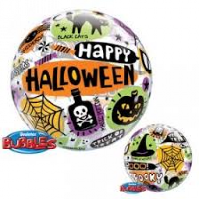 ORBZ Balloon Bubbles - HAPPY HALLOWEEN