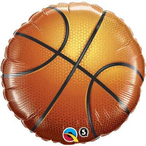 45cm Foil Balloon - BASKETBALL
