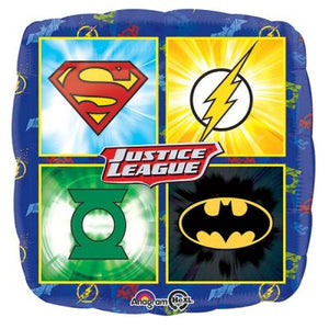 45cm Foil Balloon - JUSTICE LEAGUE