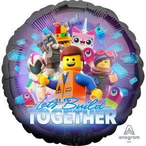 45cm Foil Balloon - LEGO MOVIE 2