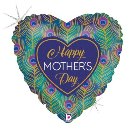 45cm Foil Balloon - HAPPY MOTHER'S DAY