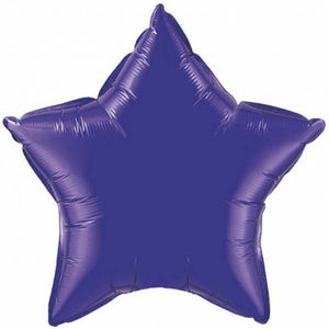 45cm Foil Balloon - STAR - PURPLE