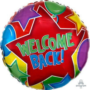 45cm Foil Balloon - WELCOME BACK