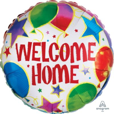 45cm Foil Balloon - WELCOME HOME