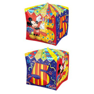 CUBEZ Balloon Bubbles - MICKEY MOUSE 5TH BIRTHDAY