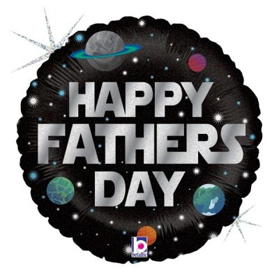 45cm Foil Balloon - HAPPY FATHERS DAY