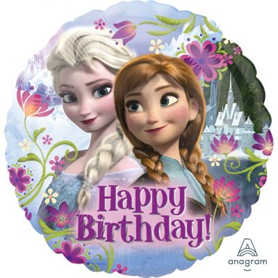 45cm Foil Balloon - FROZEN (HAPPY BIRTHDAY)