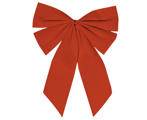 Small Christmas Bow - RED
