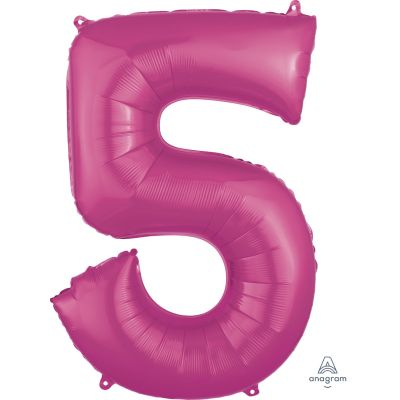 SuperShape Numbers PINK #5