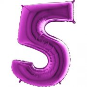 SuperShape Numbers PURPLE #5