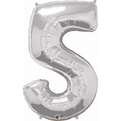 SuperShape Numbers SILVER #5