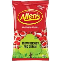 Allen's STRAWBERRIES & CREAM 1.3kg