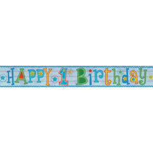 Banner - Happy 1st Birthday BOY