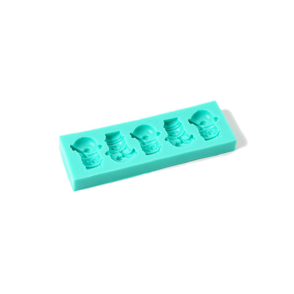 BAKE GROUP Silicone Mould - Snowmen