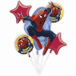 Balloon Bouquet - SPIDER MAN