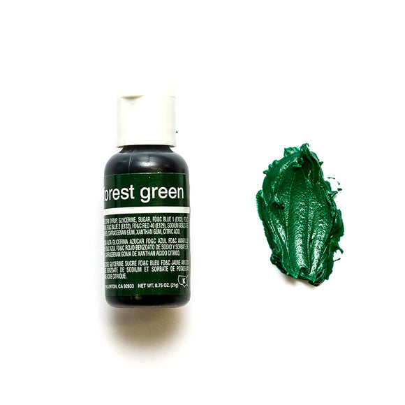 Chefmaster Liqua-gel Food Colour - FOREST GREEN